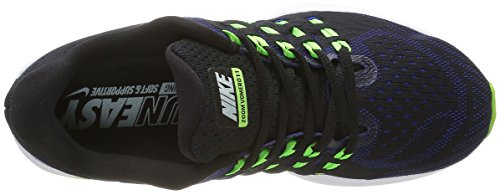 Nike Herren Air Zoom Vomero Laufschuhe Schwarz (Black/Burley Green Concord Electric GreenBlack/Burley Green Concord Electric Green)