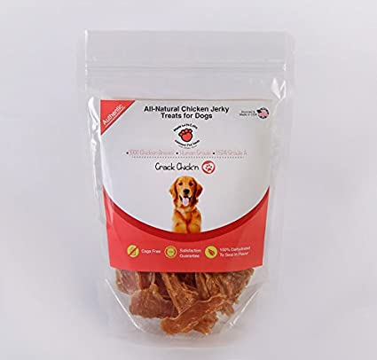 Amazon All Natural Dehydrated Chicken Jerky Dog Treats 100