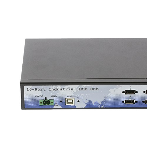 Coolgear CoolGear Industrial 16 Port Rack Mountable USB 2.0 Hub, Built in Internal Power Supply. by Coolgear (Image #4)
