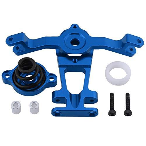 HobbyPark Aluminum Steering Arm (Upper/Lower) Servo Saver Set w/Spring Replacement of 5344 for RC Traxxas 1/10 E-Revo/Revo 3.3 /Slayer Pro 4x4 /Summit Hop-Ups (Navy ()