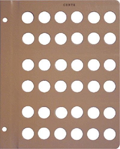 Dansco Blank Album Page for Small (Cents Blank)