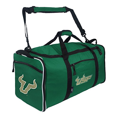 The Northwest Company Officially Licensed NCAA University of South Florida Steal Duffel Bag Bag, Blue