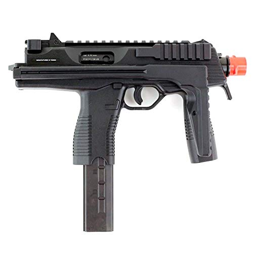 kwa gas blow back kmp9 ns2 airsoft machine gun - black(Airsoft ()