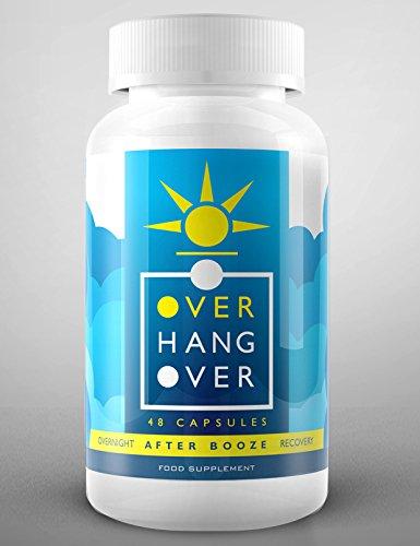 OverHangOver | 26 Premium Natural Ingredients | 8 Nights Supply | Feel...