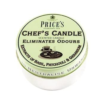 Attractive Prices Chefs Candle In Tin   Eliminates Cooking Cooks Kitchen Odour    Triple Pack