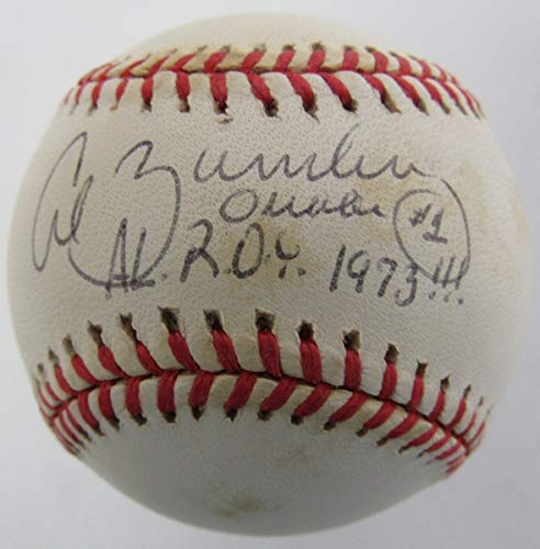 Al Bumbry Orioles inscribed