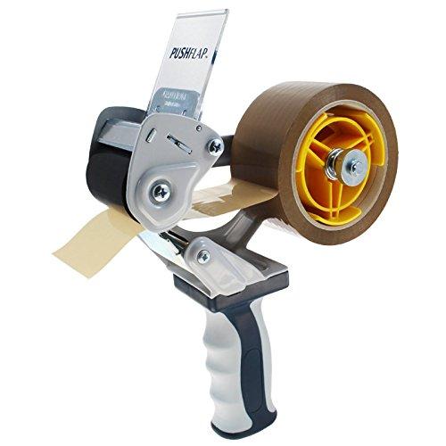 Packbandabroller mit Sicherheitsvorrichtung, Sicherheits-Handabroller für Verpackungsklebeband mit 50 mm Breite