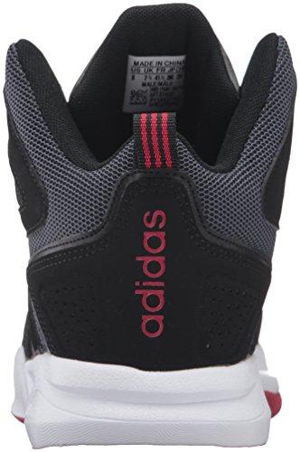 reputable site 2f453 8fbce ... usa adidas neo cloudfoam trueno mediados de zapatos plomo blanco rojo  de la potencia 1f33a b9f55