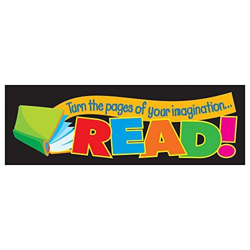 Trend Enterprises Bookmarks - TREND enterprises, Inc. Turn the pages of your imagination...READ! Bookmarks, 36 ct
