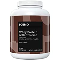Solimo Whey Protein Powder with Creatine
