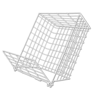 letter cage medium white