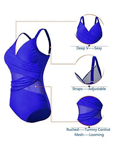 c97d283d70a58 American Trends Women s Retro One Piece Swimwear Tummy ...