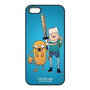 Adventure Time With Finn And Jake iPhone 5 5s Cell Phone Case Black phone component RT_227955