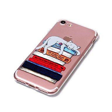 Fundas y estuches para teléfonos móviles, Caso para la caja rasguñable-resistente del teléfono de la relevación del material del tpu del modelo del gato de la cubierta del caso del ( Modelos Compatibl IPhone 8
