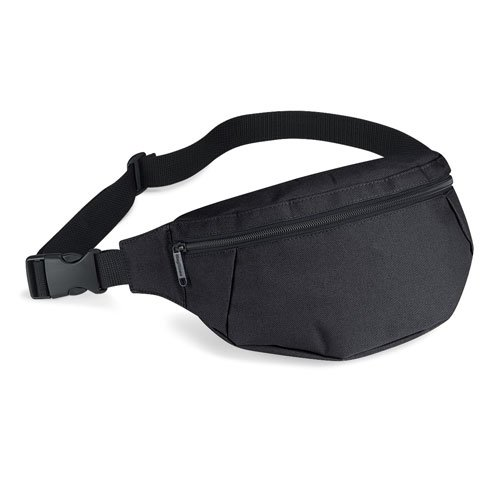 Bagbase Belt / Waist / Bum Bag in Black [Apparel]