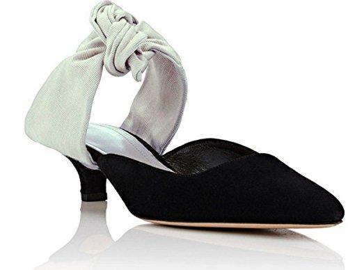 Descubierta de 11sunshopPepette Punta Mujer blanco Zapatos rtYYxq0