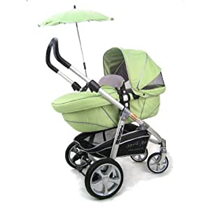 Stroll-Air Zoom Stroller, Green (Discontinued by Manufacturer)