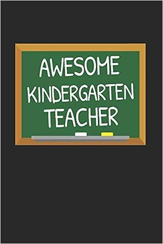 Amazon.com: Awesome Kindergarten Teacher: Gifts for Teachers ...