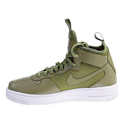 ... Nike Menns Air Force 1 Ultraforce Midten Sko Palm Grønn / Hvite ...