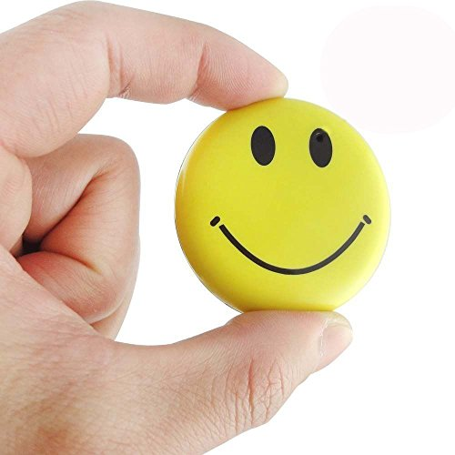 Mengshen HD Mini Spy Smile Face Badge Wearable Hidden Camera Cool Spy Gadget Mini DV DVR Camcorder Video Recorder MS-HC38 by Mengshen