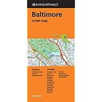 Rand McNally Baltimore, Maryland Street Map