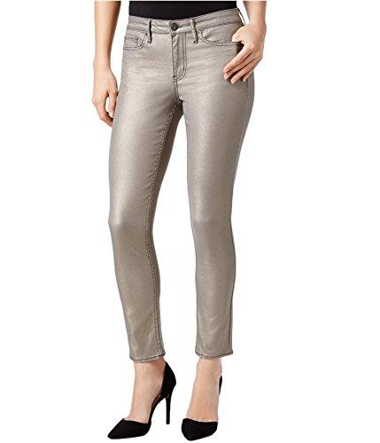 Calvin Bootcut Jeans (Calvin Klein Jeans Women's Ankle Skinny Jean Metallic Pewter, 32)
