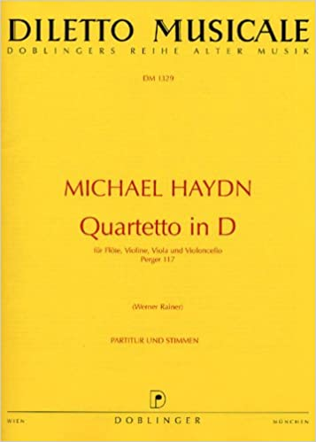 Quartetto in d : für flöte, violine, viola und violoncello, Perger 117 Download Epub Free