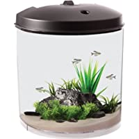 Koller Products AquaTunes 3.5 Gallon Fish Aquarium Sleep Sound Machine, Pre-Recorded Natures Sound, MP3 Player and Speaker Included