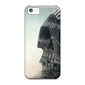 New Arrival Premium 5c Cases Covers For Iphone (brain Skull)