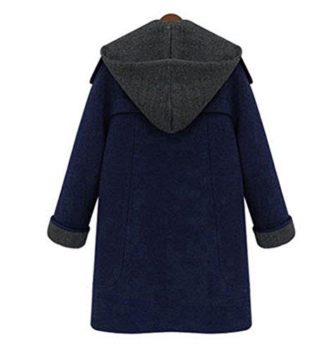 Manteau All Foncé Femme Bleu 5 g5q1wTw