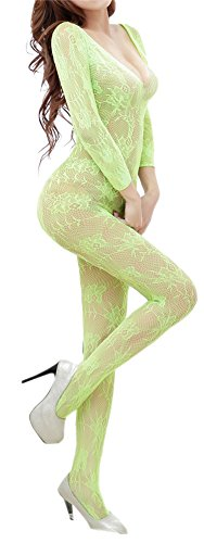 AnVei Nao Lingerie Stockings Crotchless Nightwear
