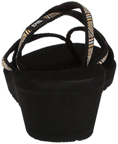 Black Metallic Agave Mandalyn De Mush Femme Chaussures Teva Sport 0TZS8q