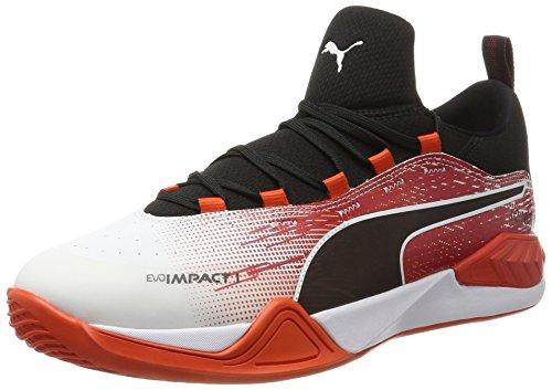 cherry Blanc Fitness white Chaussures Puma Evoimpact Homme 3 black Tomato De 1 qtvX0