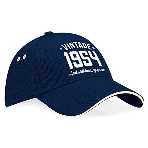 65th Birthday 1954 Baseball Cap Hat Gift Idea
