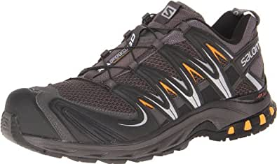 Salomon Men's XA Pro 3D Trail Running Shoe,Autobahn/Black/Yellow Gold,7 M US