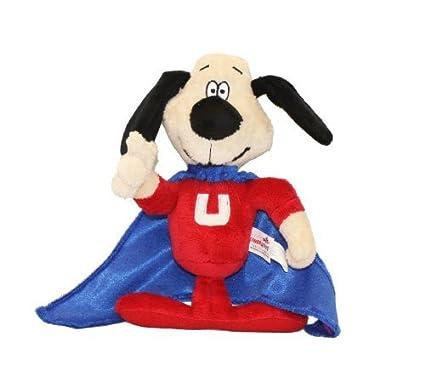 Multipet Licencia oficial Underdog Hablar de perro de juguete, 9 pulgadas