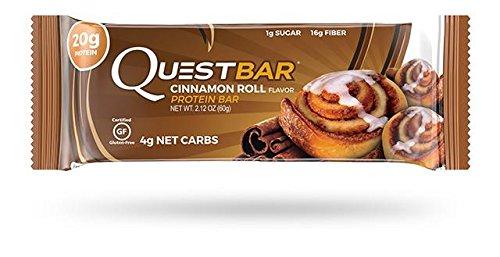 quest cinnamon protein bars - 8
