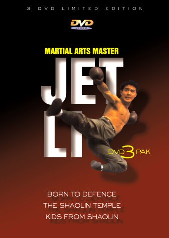 Martial Arts Master Jet Li: Born to Defence/The Shaolin Temple/Kids From Shaolin