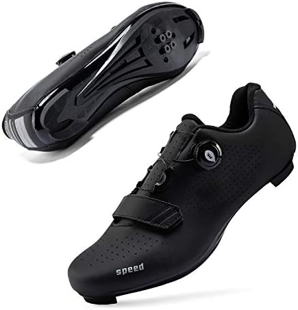 Mens or Womens Road Bike Cycling Shoes Peloton Bike Shoes Compatible SPD Riding Shoe Indoor/Outdoor