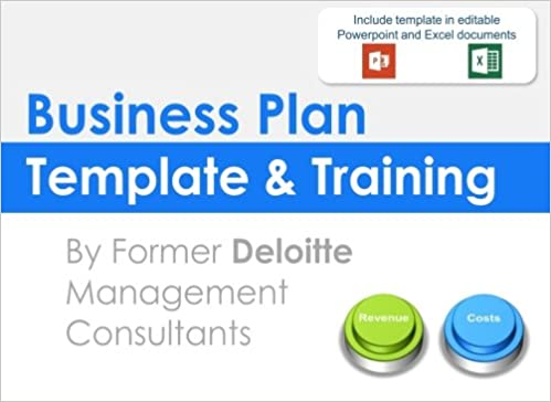 Business Plan Template And Training Including An Editable Business