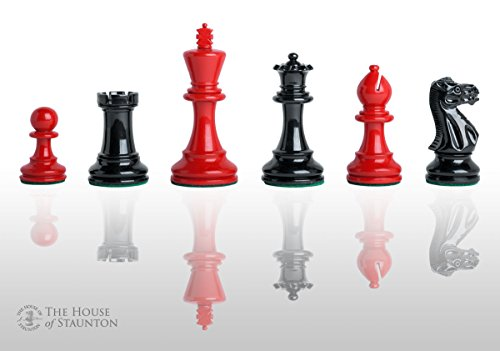 - The House of Staunton The Grandmaster Regal Chess Set - Pieces Only - 4.0