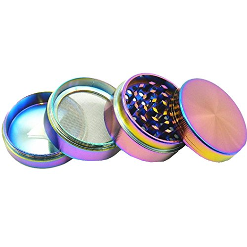 Kemilove-New-Bright-Colours-4-layer-Aluminum-Herbal-Herb-Tobacco-Grinder-Smoke-Grinders-Size40MM
