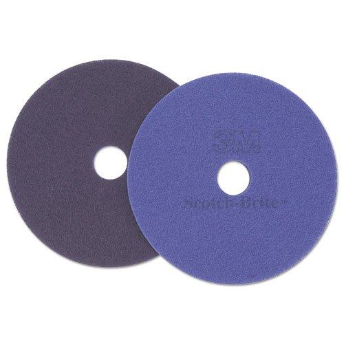 Scotch-Brite Diamond Floor Pads. 17-Inch, Purple - Includes 5 pads per (Scotch Brite Floor Cleaner)