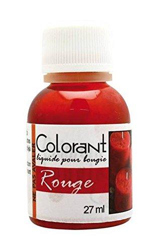 DTM - Colorante liquido per candela, 27 ml, colore: rosso