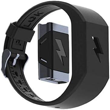 Shock Clock 2 - サイレントスマートアラームクロック - モーショントラッキング - 睡眠中に入ったりスヌーズにしたりすることはありません。