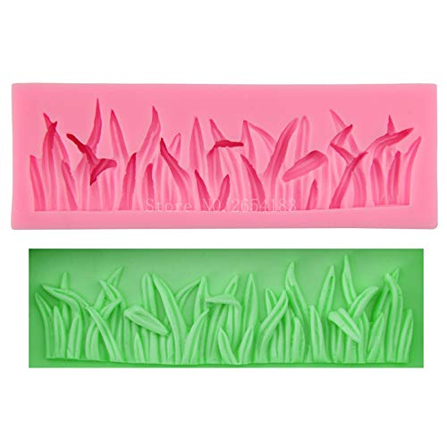 - NASHINAL Lawn Grass Small Jungle Lace Silicone Fondant Soap 3D Cake Mold Cupcake Jelly Candy Chocolate Decoration Baking Tool FQ3059 NEW