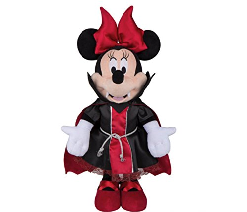 Halloween Greeter 25 in. Minnie or MIckey Vampire in Red and Black (Minnie Mouse Vampire) -