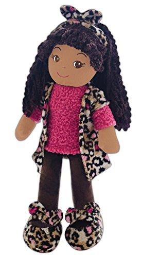 GirlznDollz Emme Leopard Print Doll, Pink