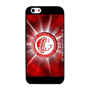 Official FC Olympiacos Piraeus FC Logo Phone Case Cover for Iphone 6/6s 4.7 (Inch) Fancy Classic Olympiacos C.F.P Phone Case