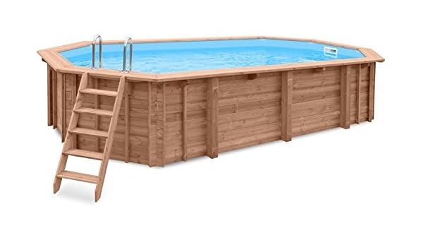 Jardín Piscina Ocean Wave, piscina a y 96188, madera, Gabriella ...